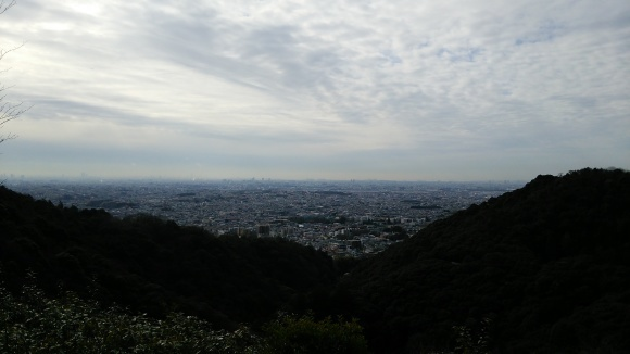望海展望台にて  箕面市_d0202264_13063613.jpg
