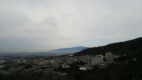聖天展望台にて  箕面市_d0202264_13181837.jpg