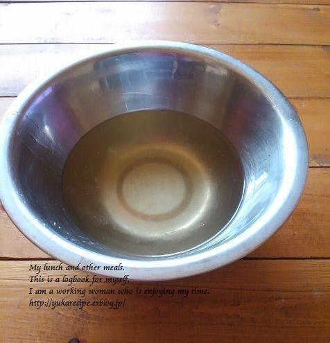 イエシゴトVol.142 かぼす種と柚子種の保湿化粧水&今日のブランチ_e0274872_12202465.jpg