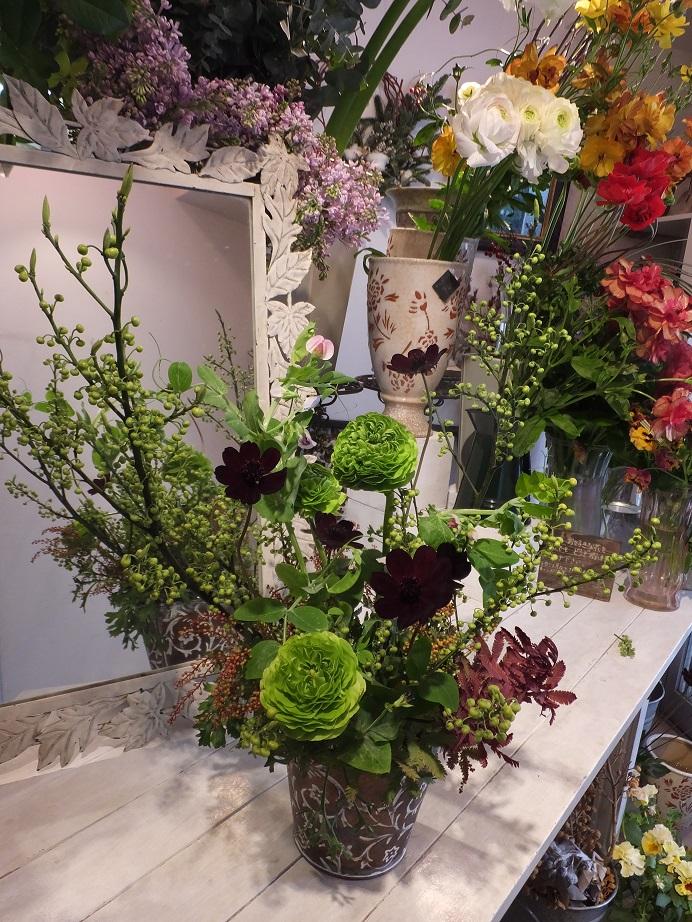 オークリーフ花の教室(富田さんの作品)_f0049672_17372823.jpg