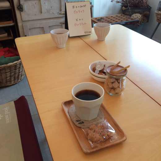 本日のoneday cafe。_a0164280_11112021.jpg
