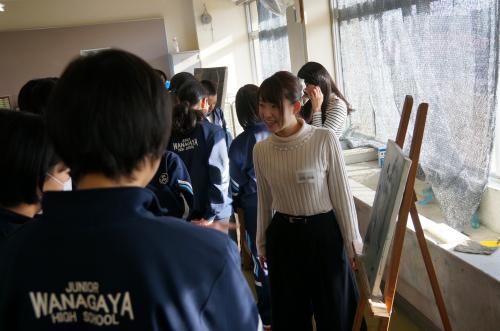 今年も松戸市立和名谷中学校で鑑賞活動(2)_e0201681_19362600.jpg