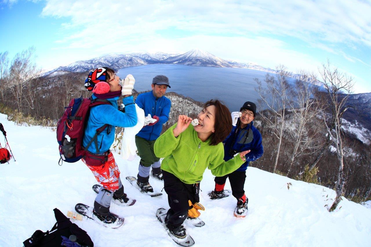 多峰古峰山、1月23日-同行者からの写真-_f0138096_21172660.jpg
