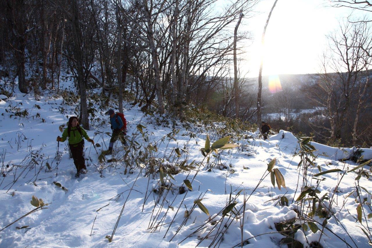 多峰古峰山、1月23日-同行者からの写真-_f0138096_21175447.jpg