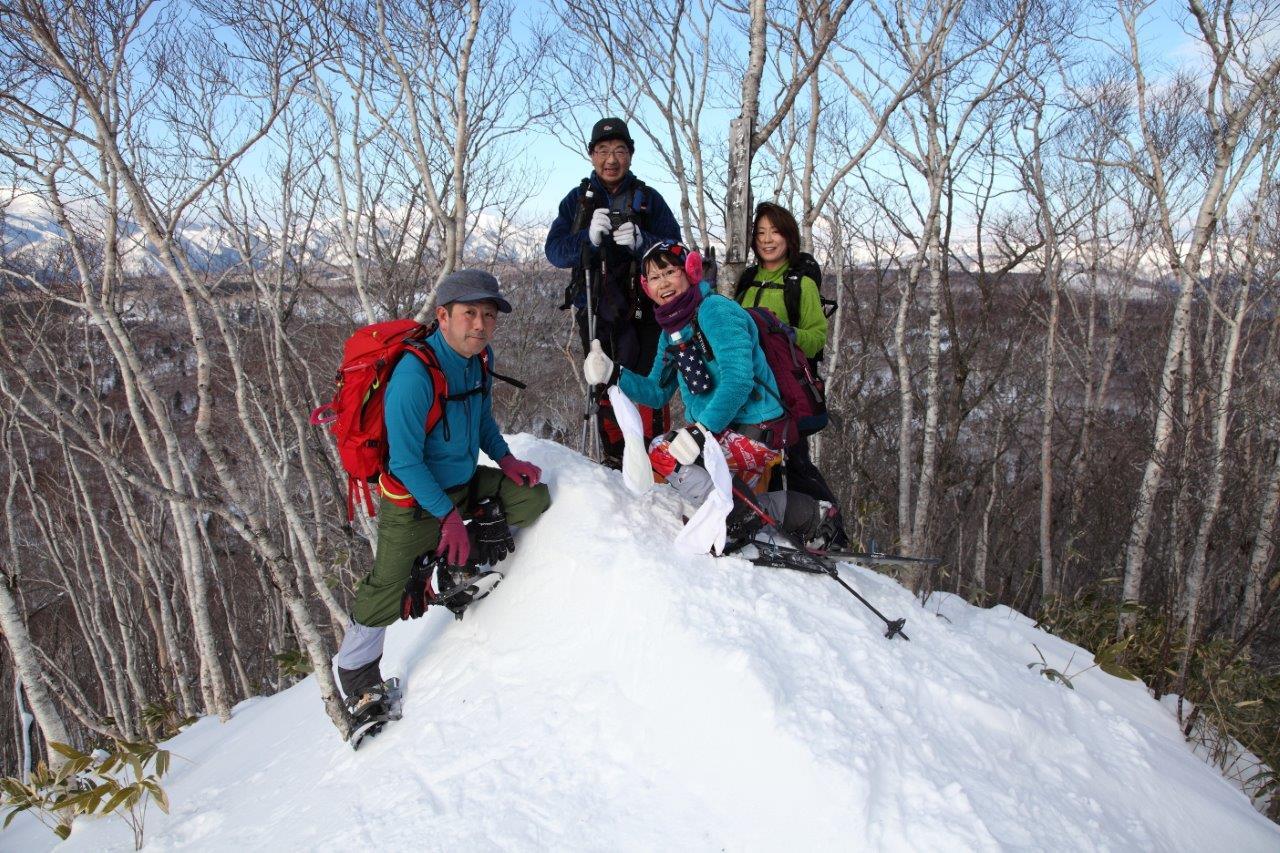 多峰古峰山、1月23日-同行者からの写真-_f0138096_2118217.jpg