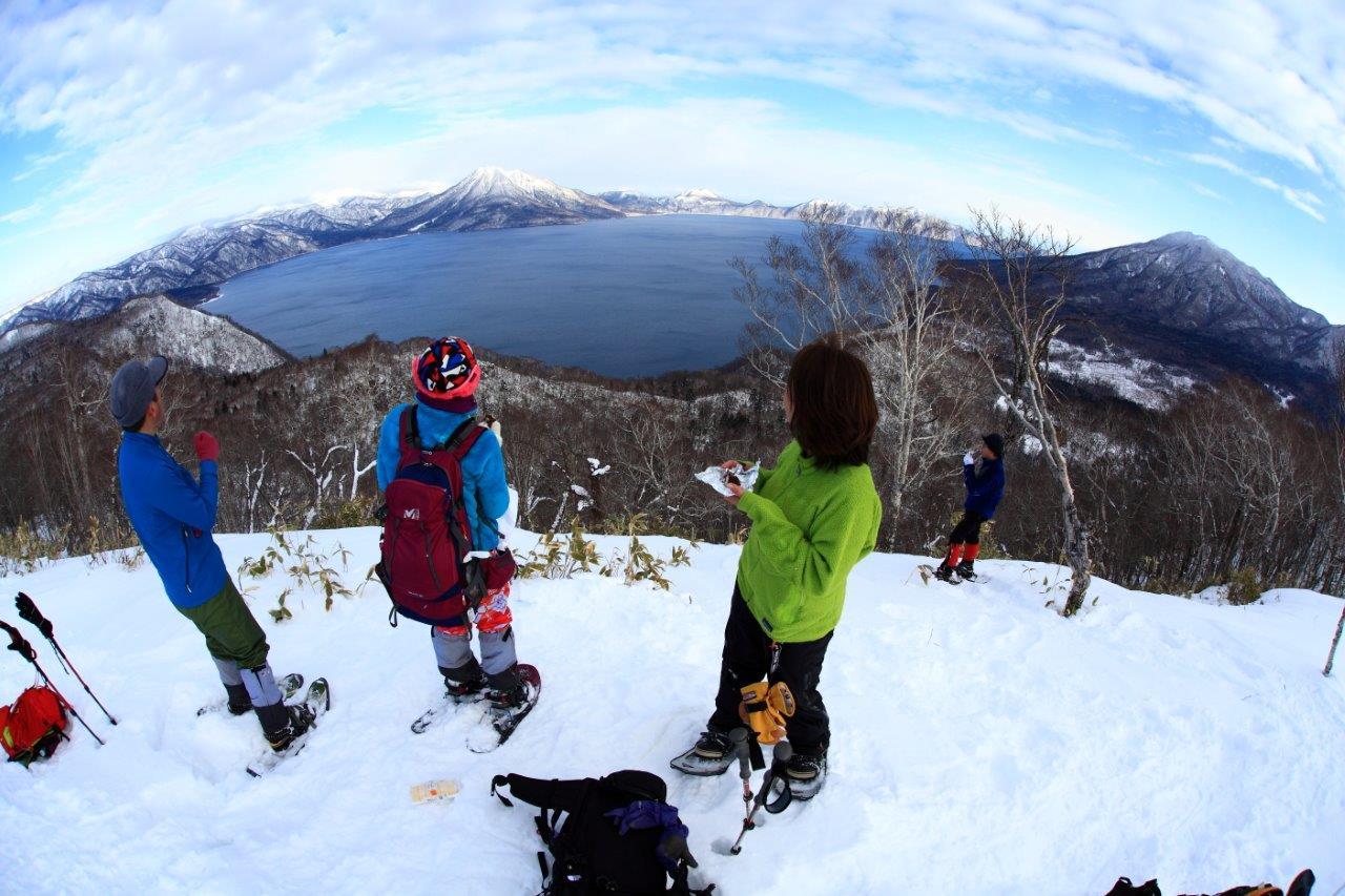多峰古峰山、1月23日-同行者からの写真-_f0138096_21182977.jpg
