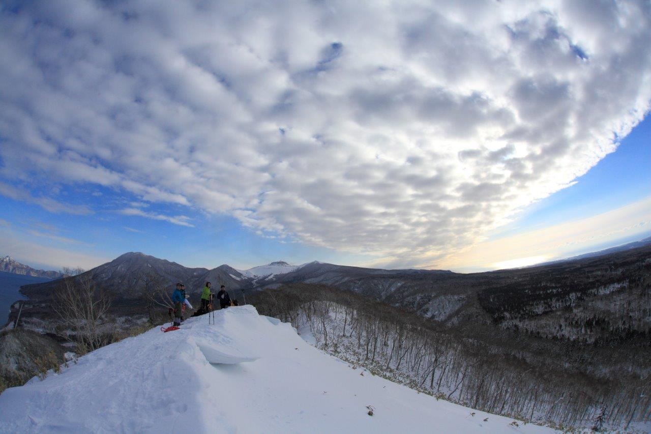 多峰古峰山、1月23日-同行者からの写真-_f0138096_21183719.jpg