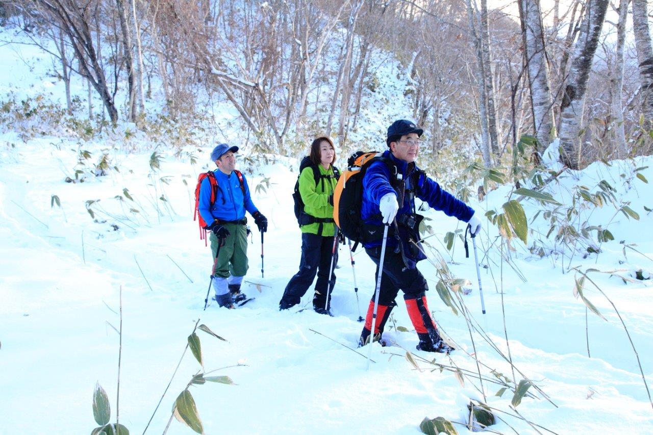 多峰古峰山、1月23日-同行者からの写真-_f0138096_211843.jpg