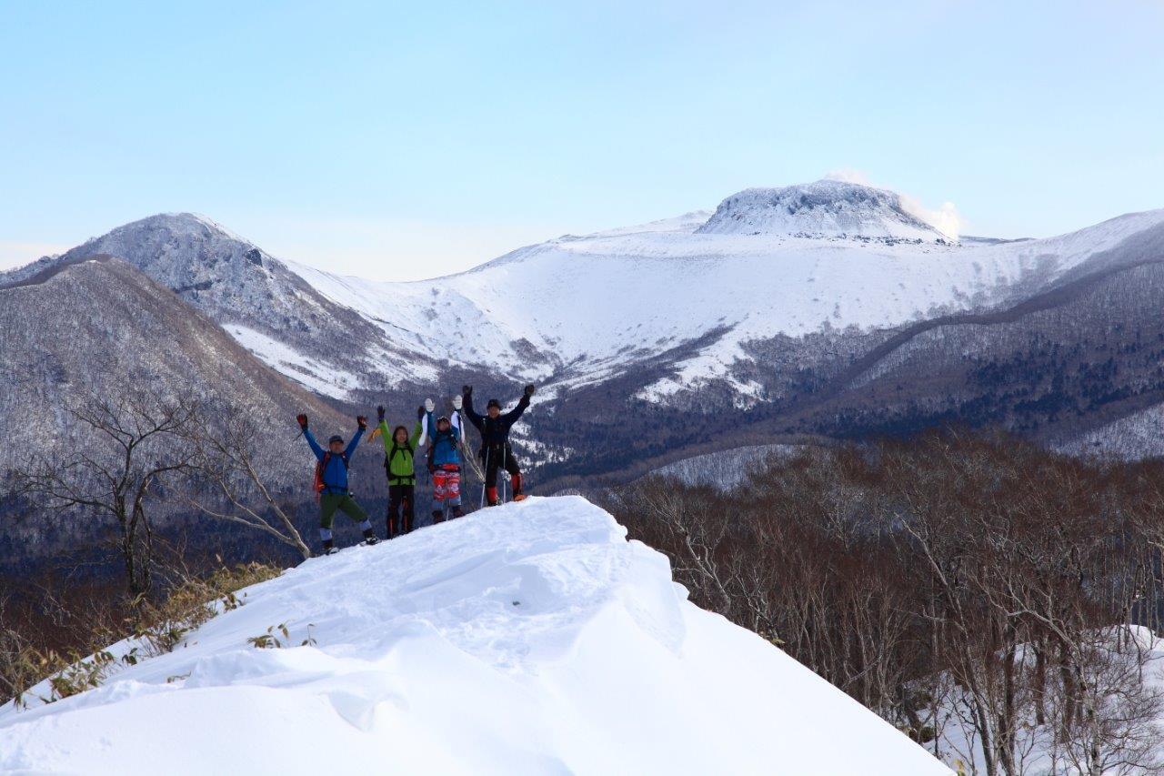 多峰古峰山、1月23日-同行者からの写真-_f0138096_21184620.jpg