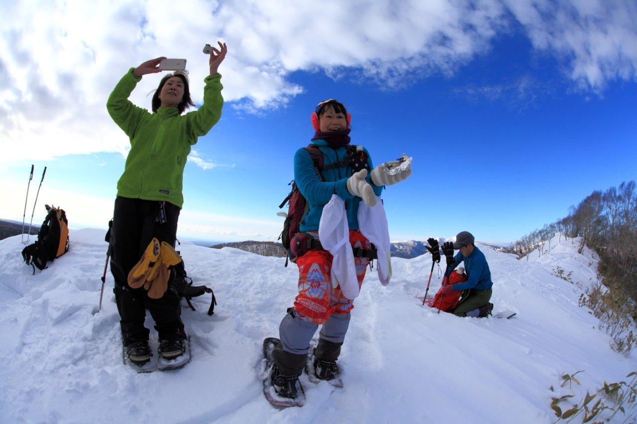 多峰古峰山、1月23日-同行者からの写真-_f0138096_21191092.jpg