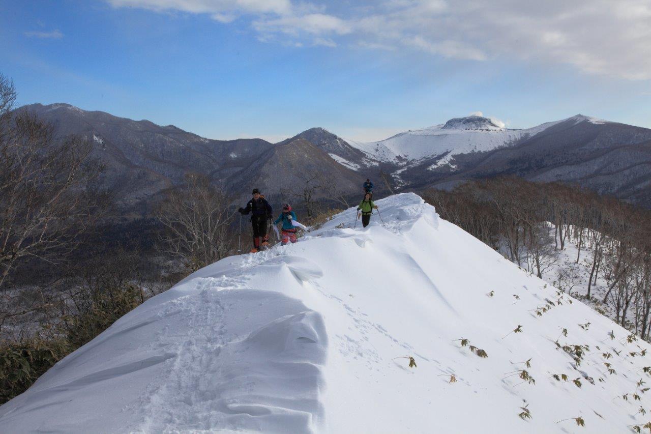 多峰古峰山、1月23日-同行者からの写真-_f0138096_21191990.jpg
