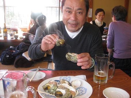 ★江の島だぁー!黒鯛だぁー!サザエ・ハマグリ焼き・シラス丼★_e0147297_1731033.jpg
