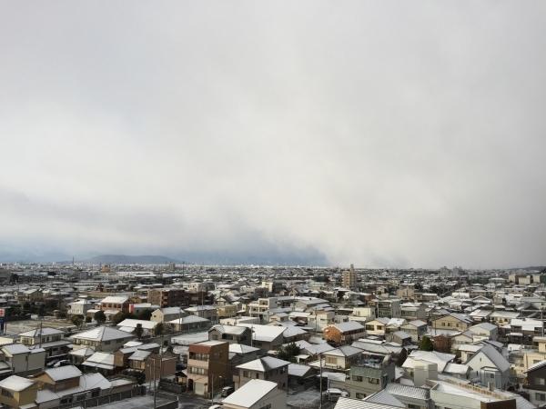 眉山湯の大掃除と雪景色_d0261201_09591214.jpg