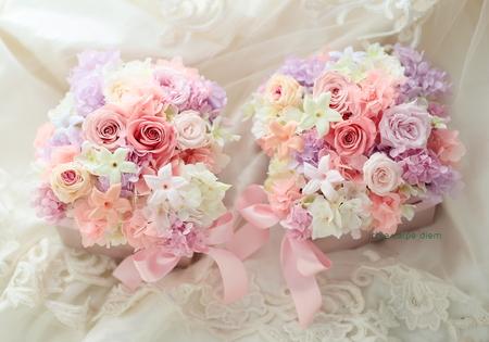 結婚式でご両親へ贈る、プリザーブドの贈呈ギフトアレンジメント _a0042928_153371.jpg