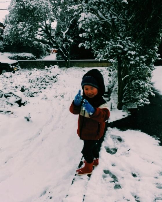 雪だー!_f0131255_12081884.jpg
