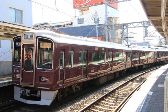 阪急9004F レンタカー _d0202264_11425618.jpg