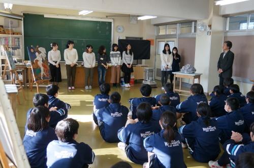 今年も松戸市立和名谷中学校で鑑賞活動(2)_e0201681_10495460.jpg