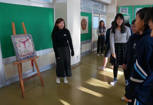 今年も松戸市立和名谷中学校で鑑賞活動(1)_e0201681_16495317.jpg