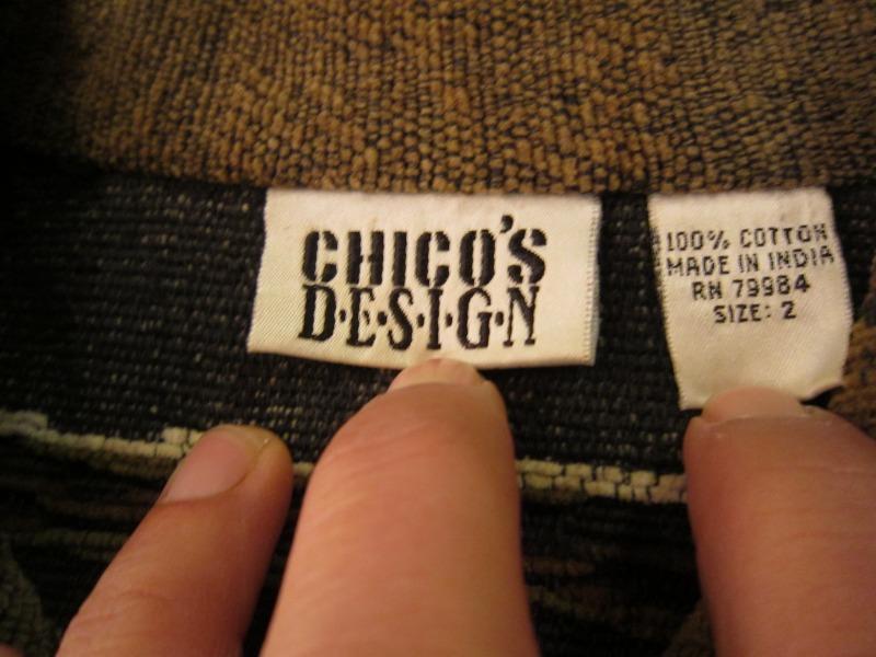 CHICO`S DESIGN JACKET!_a0182112_1633466.jpg