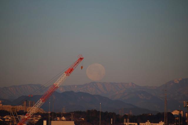 今朝の惜しい月。_f0348831_22120033.jpg