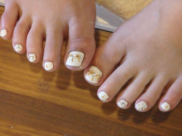 White Foot Nail_a0239065_15222130.jpg