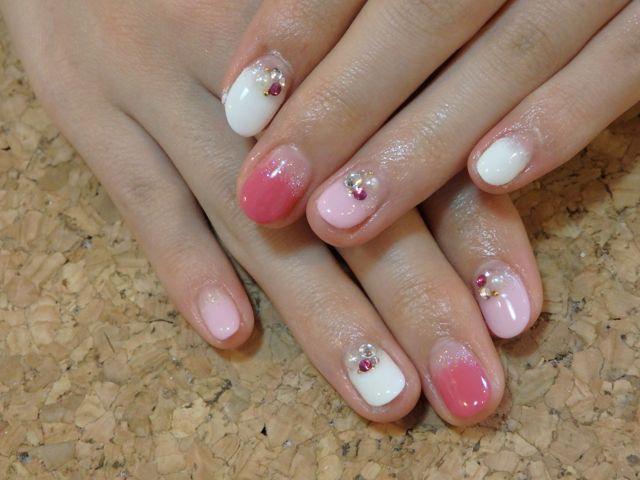 Pink Nail_a0239065_16582141.jpg