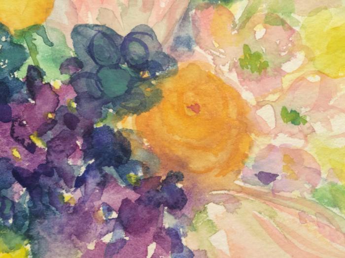 春の花(水彩画)_e0233674_22163400.jpg