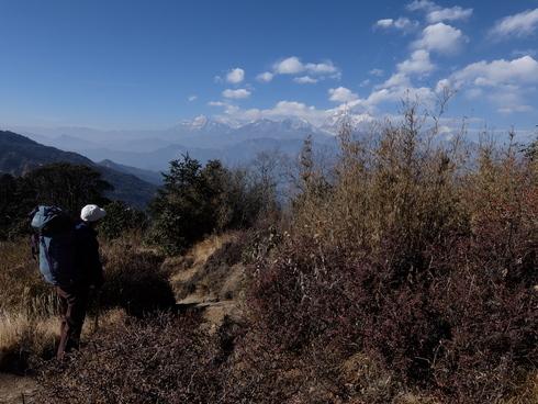 11日目 : Trekking day9 タダパニ→ゴレパニ_a0207588_22325654.jpg