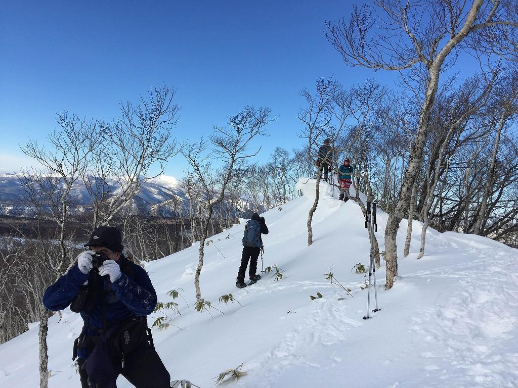 多峰古峰山、1月23日-同行者からの写真-_f0138096_74953100.jpg