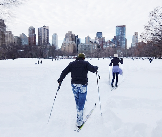 大雪翌日のNY、白銀のセントラルパークへ!!!_b0007805_556884.jpg