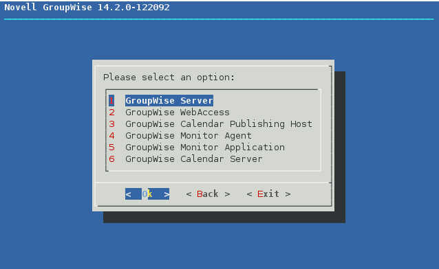 GroupWise 2014 R2 の SUSE Linux へのインストール_a0056607_1450396.jpg