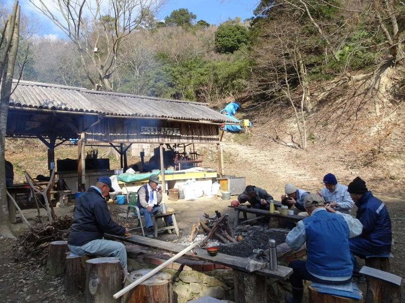 道普請もやってます in 孝子の森     by     (TATE-misaki)_c0108460_21280612.jpg