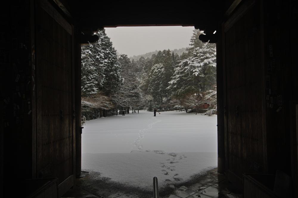 神護寺 雪景色 2016                                 _f0021869_1852264.jpg