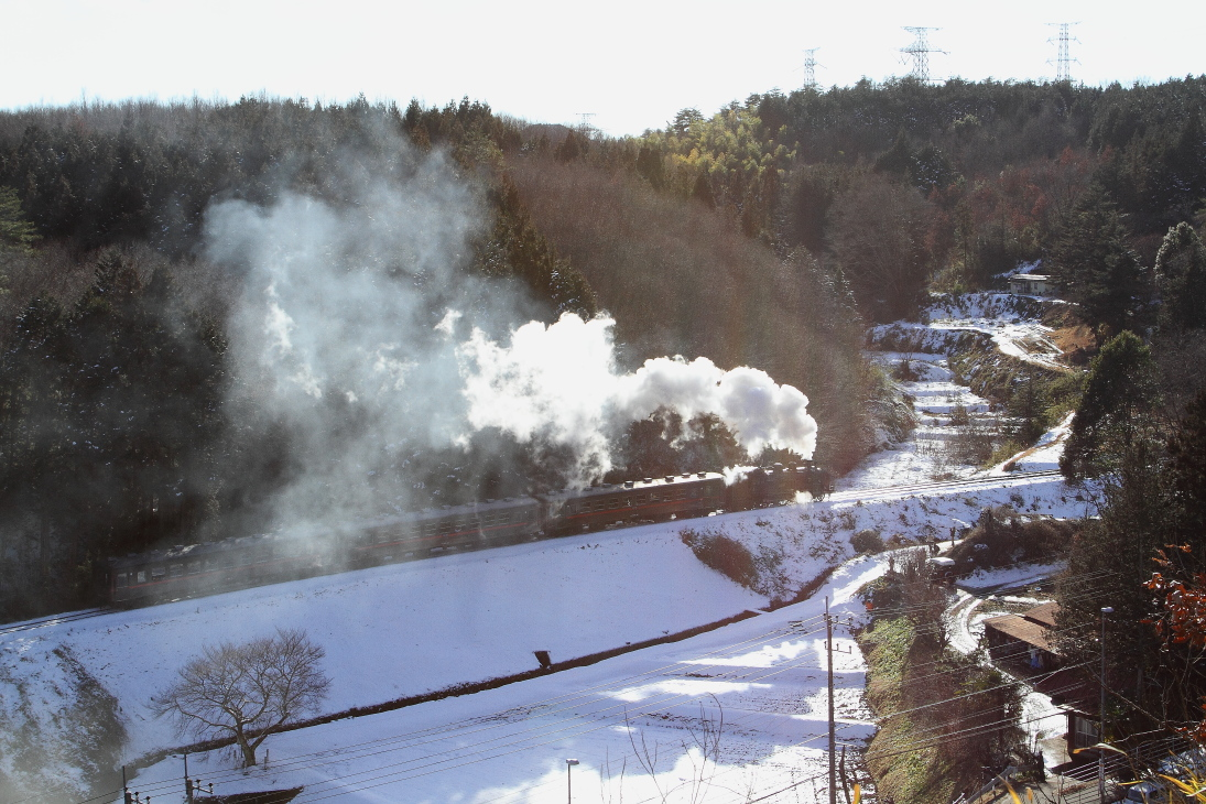 残雪と白煙 - 2016年冬・真岡 -   _b0190710_237438.jpg