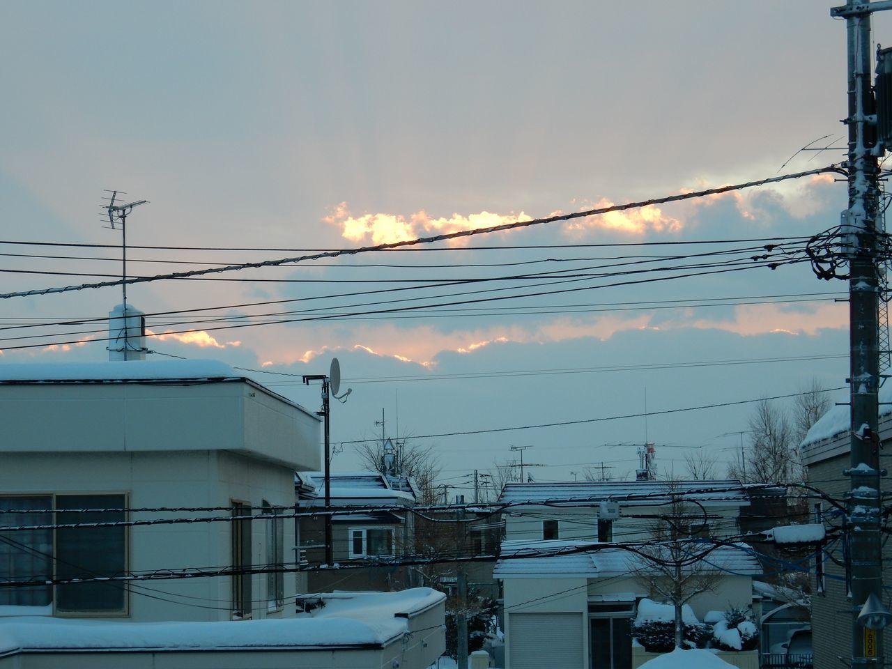 朝なのに夕焼けみたい_c0025115_19320723.jpg