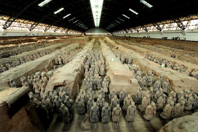 始皇帝と大兵馬俑 東京国立博物館_e0345320_22341870.jpg