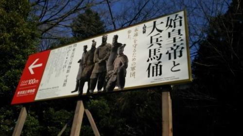 始皇帝と大兵馬俑 東京国立博物館_e0345320_22502089.jpg