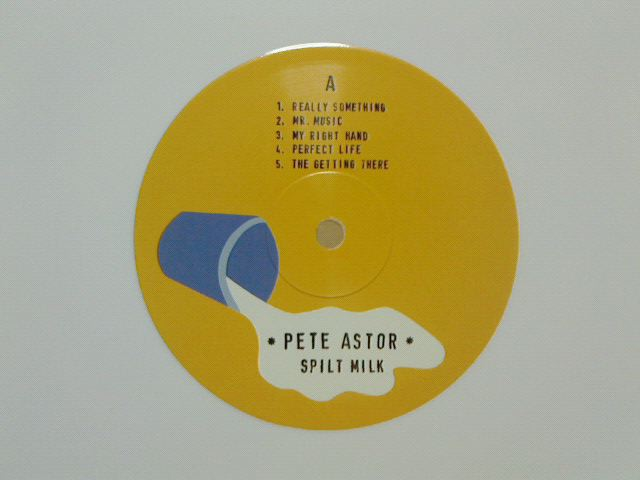 昨日到着レコ 〜 Split Milk / Pete Astor_c0104445_20475615.jpg