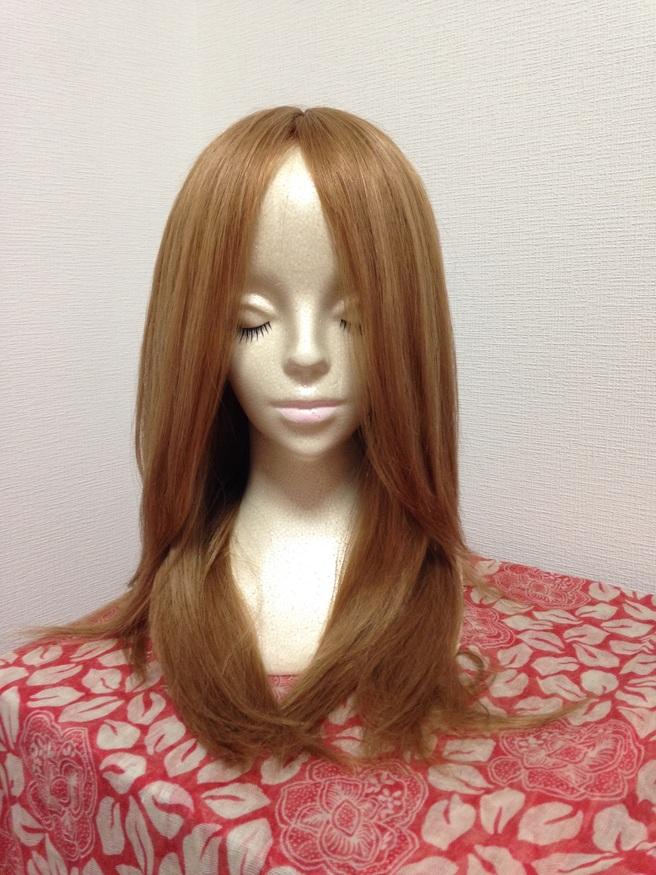 人毛100% ロングヘアのウィッグを入荷しました!_f0277245_0435462.jpg