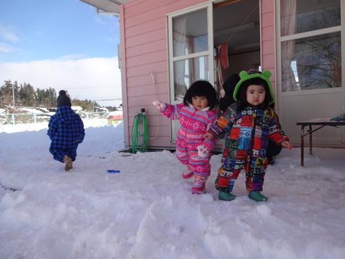 雪あそび楽しいよ!_d0166047_14491284.jpg
