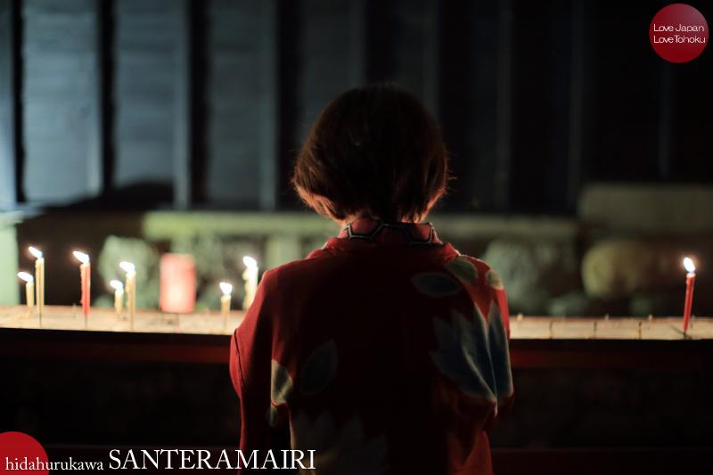 飛騨古川三寺まいり2016 - 写真撮影記 02 千本蝋燭、灯籠流し編_b0157849_19312289.jpg