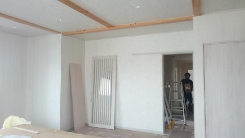 •豊里美容室 il mare 2階自宅工事 進捗状況_e0357165_15114233.jpg