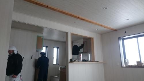 •豊里美容室 il mare 2階自宅工事 進捗状況_e0357165_15115093.jpg