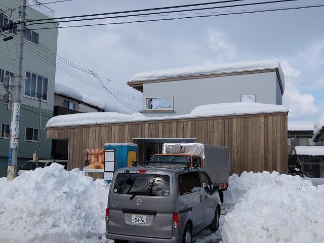 現場の様子(中島の家) その八_c0247768_10393388.jpg