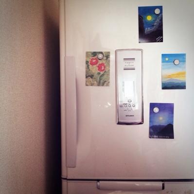 冷蔵庫にポストカード_a0341288_17243683.jpg