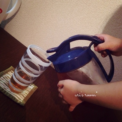 やっと出会えた理想の麦茶ポット。と、今日のごはん。_a0341288_17250950.jpg