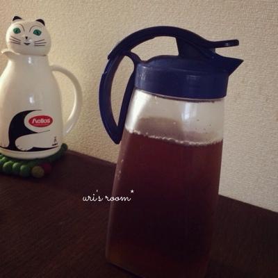 やっと出会えた理想の麦茶ポット。と、今日のごはん。_a0341288_17250987.jpg