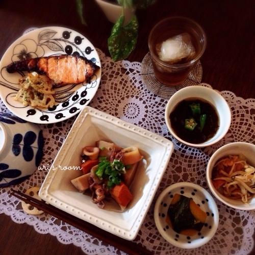 また夫在宅時にポチったものが届く件(´Д` )と、昨日のごはんは和定食!_a0341288_17260941.jpg