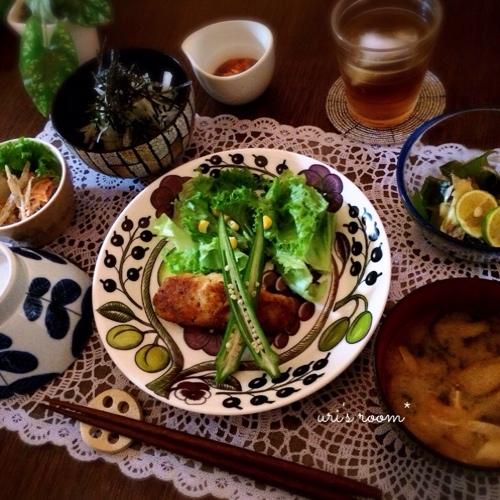 引越し日&引越し屋さんも決めました(´∀`)と、昨日の晩ごはんは鮭のパン粉焼き!_a0341288_17260946.jpg