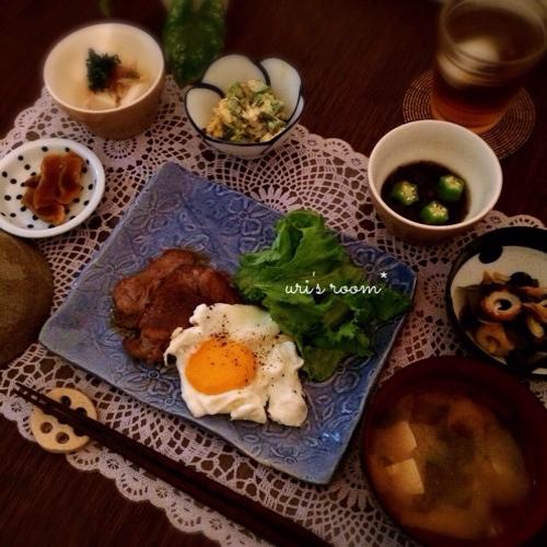 楽天*  お買い物マラソンと、昨日の晩ごはんは豚肉の生姜焼き!_a0341288_17261094.jpg